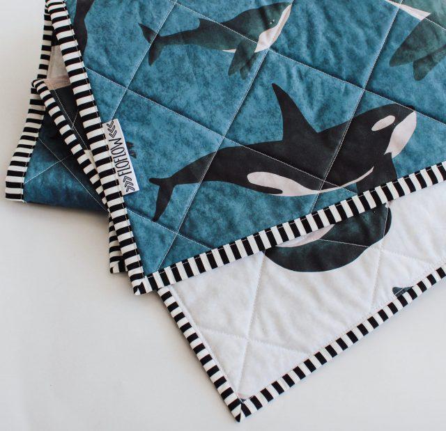 sealife wholecloth quilt FloFlow 4