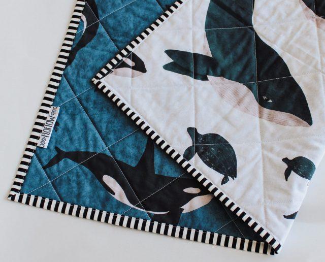 sealife wholecloth quilt FloFlow 3