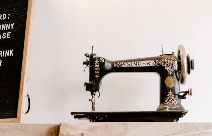 old sewing machine floflow